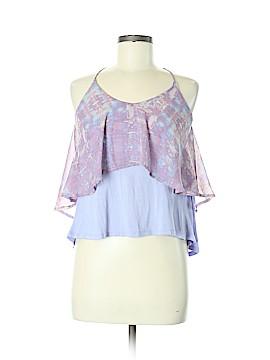 Sparkle & Fade Sleeveless Blouse Size M