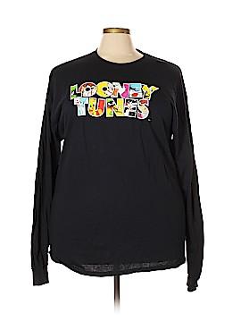 Looney Tunes Long Sleeve T-Shirt Size 2X (Plus)