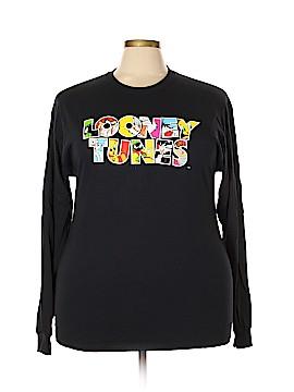 Looney Tunes Long Sleeve T-Shirt Size 1X (Plus)