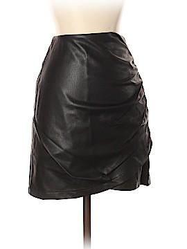 Zara Basic Faux Leather Skirt Size XS