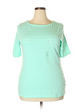 Charter Club Short Sleeve T-Shirt Size 0X (Plus)