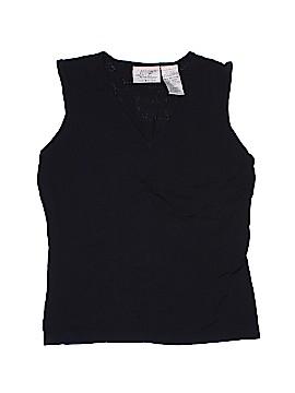 Kathie Lee Sleeveless Blouse Size S