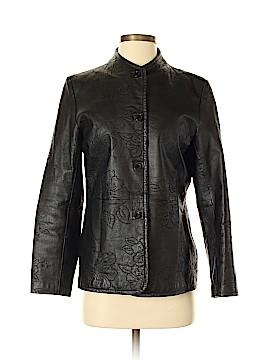 Dialogue Leather Jacket Size 4