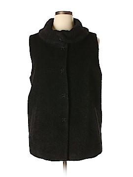 Eileen Fisher Vest Size 1X (Plus)