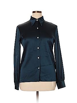 Randy Kemper Long Sleeve Silk Top Size 12