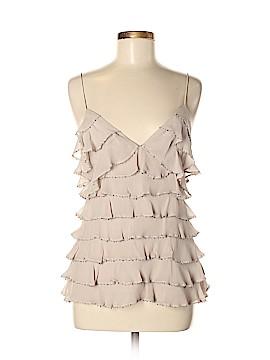 Sheri Bodell Sleeveless Silk Top Size M