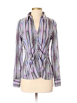 New York & Company Long Sleeve Blouse Size 4