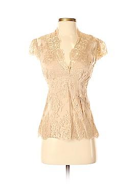 DKNY Short Sleeve Blouse Size 2
