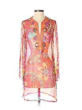 Ranna Gill Long Sleeve Silk Top Size XS