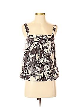 HD in Paris Sleeveless Button-Down Shirt Size 2