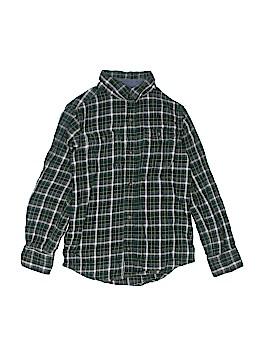 Carter's Long Sleeve Button-Down Shirt Size 7