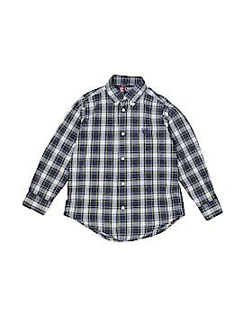 Chaps Long Sleeve Button-Down Shirt Size 6