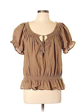 Jeanstar Short Sleeve Blouse Size L