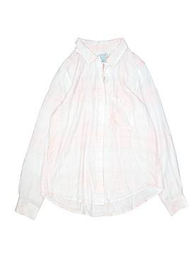 Susina Long Sleeve Blouse Size S