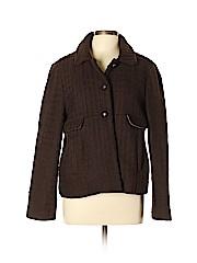Dialogue Women Wool Coat Size L