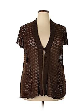 Jones New York Collection Cardigan Size 3X (Plus)