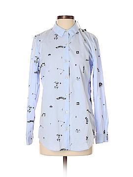 Scotch & Soda Long Sleeve Button-Down Shirt Size Sm (1)