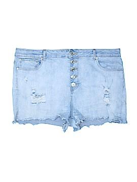 Forever 21 Denim Shorts Size 3X (Plus)