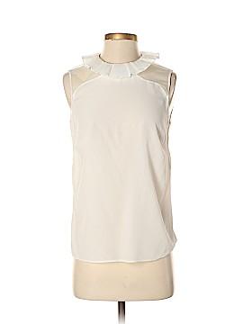 Sandro Sleeveless Silk Top Size Sm (1)