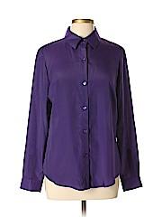 Jones New York Collection Women Long Sleeve Blouse Size 10