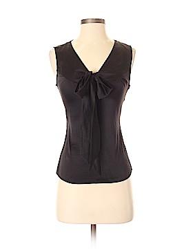 H&M Sleeveless Silk Top Size 4