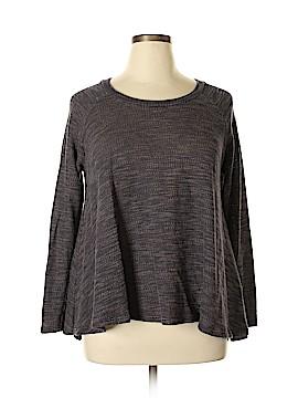 Basil heart Lola Pullover Sweater Size L