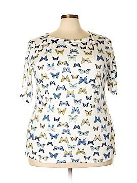Charter Club Short Sleeve T-Shirt Size 3X (Plus)