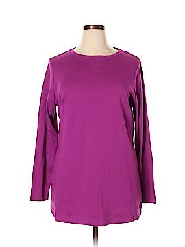 Isaac Mizrahi LIVE! Long Sleeve T-Shirt Size XL
