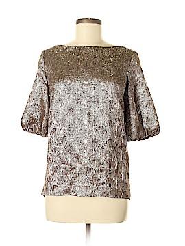 Ports 1961 3/4 Sleeve Silk Top Size 6