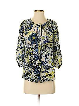Banana Republic 3/4 Sleeve Silk Top Size XS