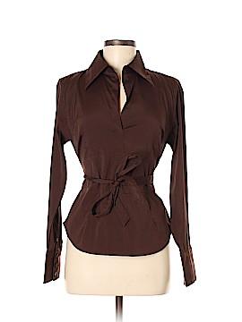 Cotton Express Long Sleeve Blouse Size M