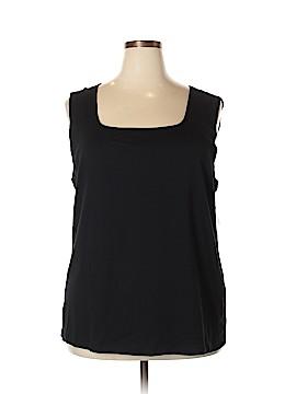 Karen Scott Sleeveless T-Shirt Size 3X (Plus)