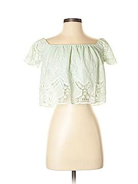 Lucy Paris Short Sleeve Blouse Size XS