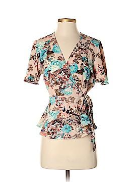 Monteau Short Sleeve Blouse Size S