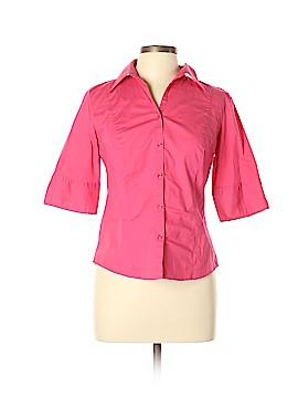 Ann Taylor LOFT 3/4 Sleeve Button-Down Shirt Size 6