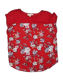 Hippie Rose Short Sleeve Blouse Size L