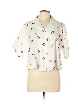 Victoria Beckham 3/4 Sleeve Button-Down Shirt Size 6