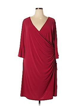 Chaps Casual Dress Size 24 (Plus)