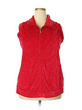 Quacker Factory Vest Size 2X (Plus)