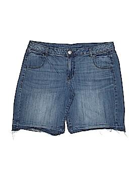 Lane Bryant Denim Shorts Size 16 (Plus)