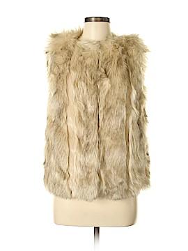 Topshop Faux Fur Jacket Size 6