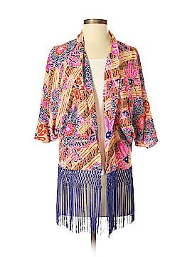 Trina Turk Silk Cardigan Size XS