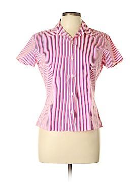 Ralph Lauren Black Label Short Sleeve Button-Down Shirt Size 10