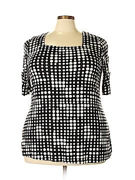 Como Vintage Short Sleeve Top Size 1X (Plus)