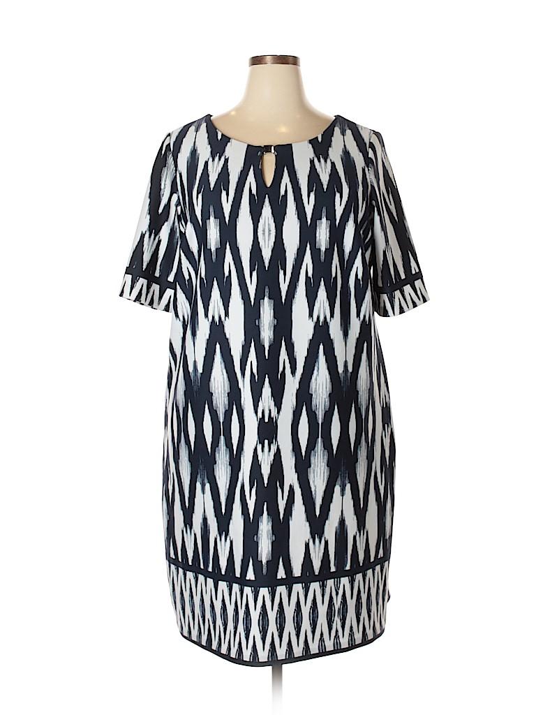 Sandra Darren Women Casual Dress Size 20w (Plus)