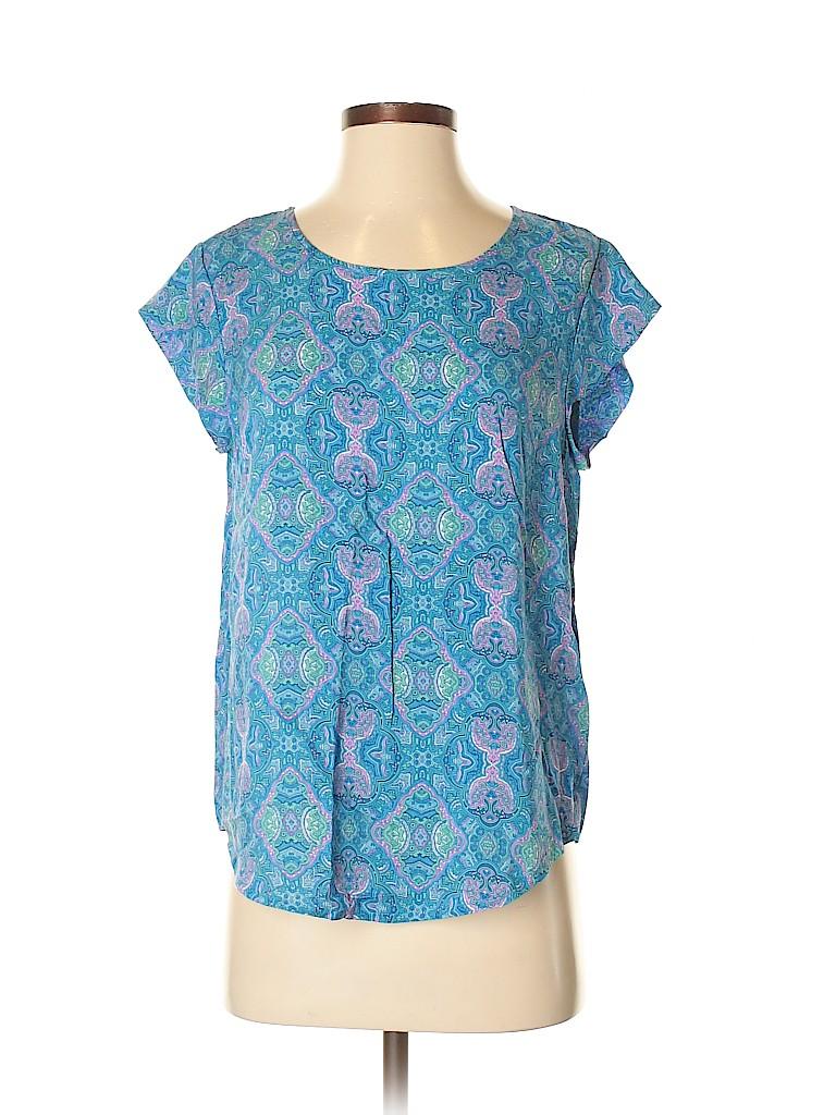 Rose & Thyme Women Short Sleeve Blouse Size XS