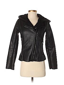 BB Dakota Faux Leather Jacket Size XS