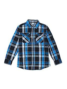 Hawk Long Sleeve Button-Down Shirt Size M (Kids)