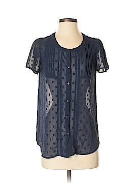 Doe & Rae Short Sleeve Blouse Size S