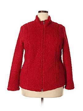 J.jill Faux Fur Jacket Size XL